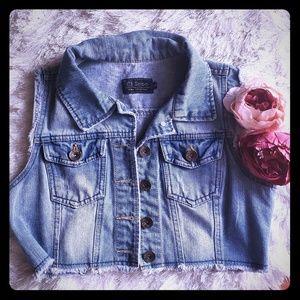Jackets & Blazers - Cropped Jeans Jacket